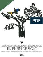 Educa c i on Democracia y Des Arrollo