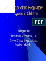 Respiratory Disorders in Children
