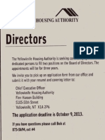 YK Housing Call for Directors