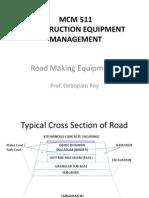 MCM 511 - Road Making Equipments