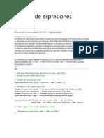 Árboles de expresiones
