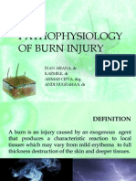 Pathophysiology of Burn Injury