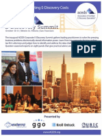 2013 ACEDS Corporate E-Discovery Summit Program