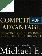 Michael Porter - Competitive Advantage