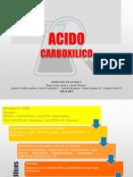 AcidoAcetico y Formico