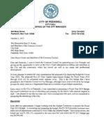 Peekskill Proposed 2014 Budget