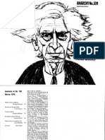 Bertrand Russell and the Anarchists
