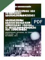 II COLÓQUIO DE ESTUDOS FOUCAULTIANOS Caderno de Programação
