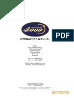 Midas Heritage 4000 Manual