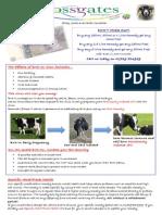 Crossgates Bioenergetics Farm Newsletter Autumn 2013