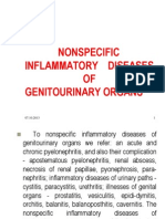 NONSPEСIFIC INFLAMMATORY DISEASES OF GENITOURINARY ORGANS
