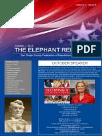 SDCFRW - October Newsletter (2013)