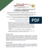 Instrucciones Autores III Mexiquense y I Nacional CTS+I - 2013
