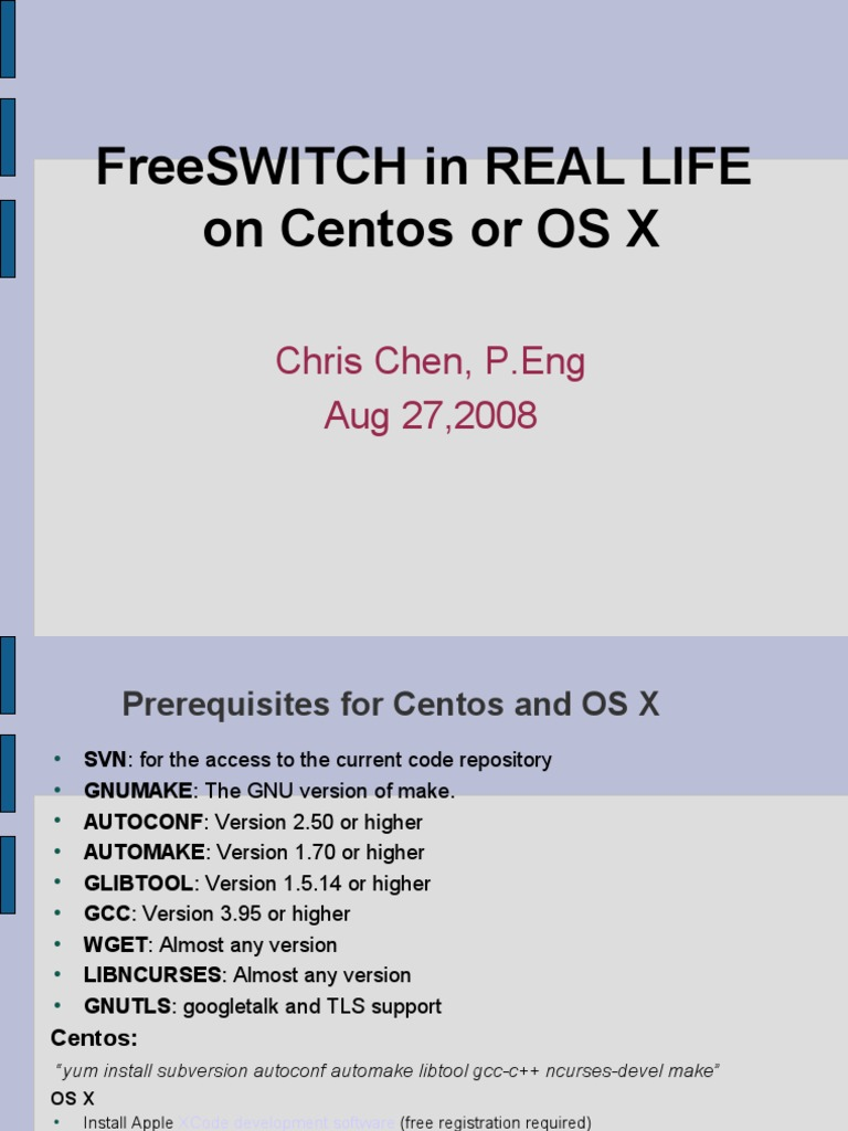 Free Switch in Real Life | Session Initiation Protocol