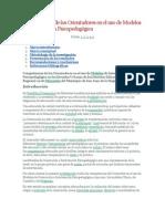 Competencias de los Orientadores en el uso de Modelos de Intervención Psicopedagógica