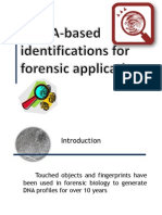 mRNA-Based identification for forensic application
