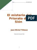 21362705 El Misterio Del Priorato de Sion Jean Michel Thibaux