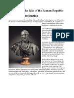 rise of roman republic text