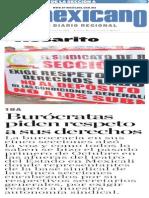 Burocratas Piden Respeto a Sus Derechos-R