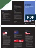 National Maori Flag Brochure
