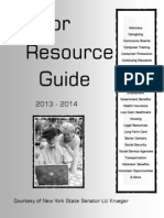 Senior Resource Guide, 2013-2014
