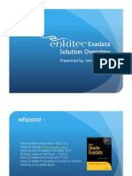 Enkitec Oracle Exadata Executive Overview