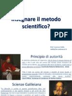 Insegnare Il Metodo Scientifico