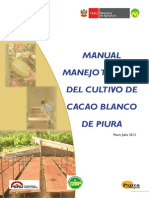Manual Cacao Blanco Piura