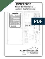 Dvr 2000 Marathon Electric Manual