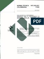 NTC-ISO-IEC-17020-2012