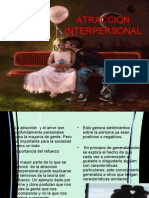 Atraccion Interpersonal Psicologia