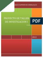 Proyecto de Taller de Investigacion