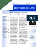Jan 2013 Bulletin