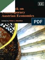 Handbook on Contemporary Austrian Economics by Peter J. Boettke
