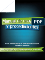 Manual de uso estilo y procedimientos