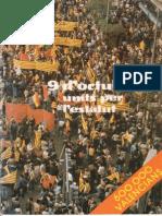 9 d'octubre de 1977 - Fotos i parlament final -  DOCUMENT HISTÒRIC