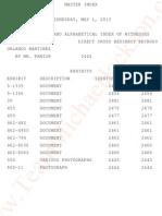 Transcripts - Katherine Jackson V AEG Live - May 1st 2013 - Detective ORLANDO MARTINEZ