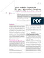 Physiologie et méthodes d'exploration du système rénine-angi