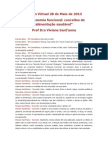 Gastronomia funcional conceitos de alimentação saudável