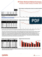 RPData Weekend Market Summary Week Ending 2013 October 6