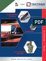 Catalogo de Sensores Pedales y Valvulas Neumaticas William Controls