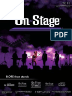 On-Stage Stands Product Catalog 2013