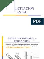 Solicitacion Axial