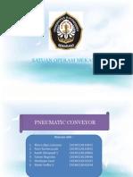 Presentasi Pneumatic Conveyor