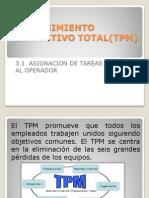 Mantenimiento Productivo Total(Tpm)