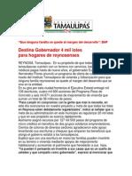 com1361 - 231007 Destina Eugenio Hernández 4 mil lotes para hogares de reynosenses