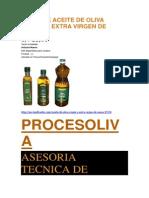 Venta de Aceite de Oliva Virgen y Extra Virgen de Yauca