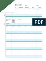 itc lesson plan calendar november 2013