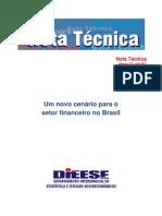 DIEESE - Cenario Setor Financeiro