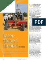 Rice Today Vol. 12, No. 4 Laser-guided dreams